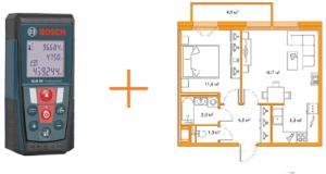 Цена проверки площади и составления плана