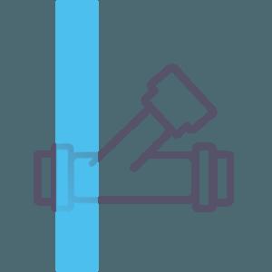 Наличие и правильность установки всех счетчиков горячего и холодного водоснабжения, корректность установки регуляторов давления и фильтров грубой очистки