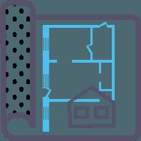 Услуга замера площади квартиры лазерным дальнометром