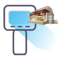 Услуги телевизорного обследования коттеджей, домов, бани